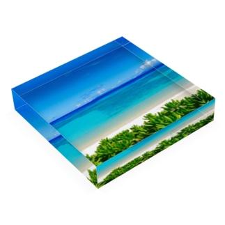 夏の扉 Acrylic Block