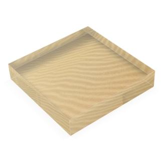 鳥取砂丘の砂紋 Acrylic Block
