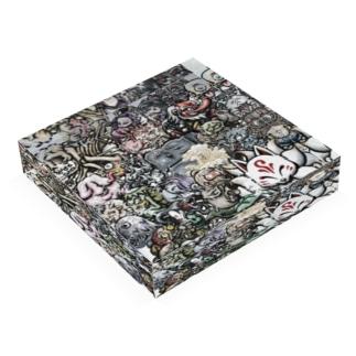 G-laboの戯画百妖 壱 Acrylic Blockの平置き