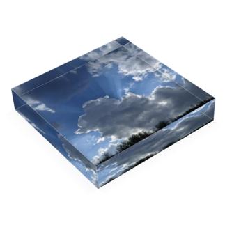 夏の雲 Acrylic Block