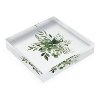 グリーン Acrylic Block