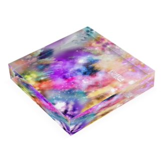 『ゆめ』 Acrylic Block