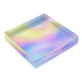 オーロラ Acrylic Block