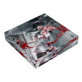 ナースつみこアクリルブロック Acrylic Block