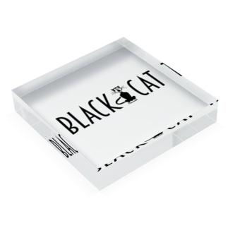 BLACK CAT Acrylic Block