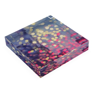 ネオンドロップ Acrylic Block