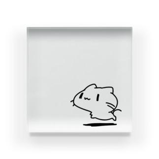どどねこ-ふつう- Acrylic Block