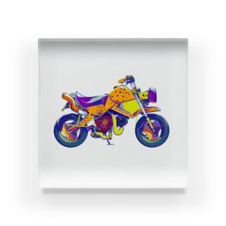 チーターバイク Acrylic Block
