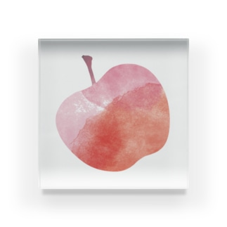 きいりんご。 Acrylic Block