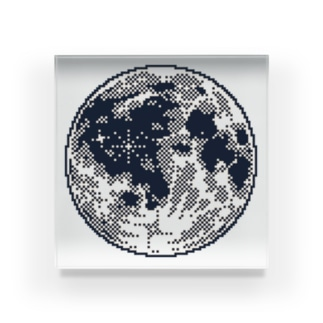 .moon アクリルブロック