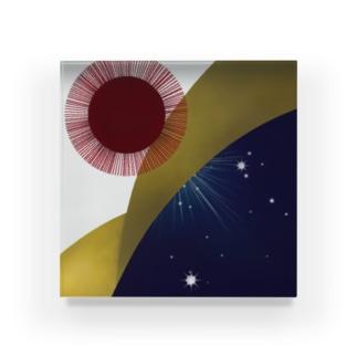 夜明け - yoake - Acrylic Block