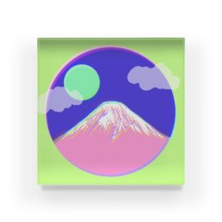 フジヤマ - fuji - アクリルブロック