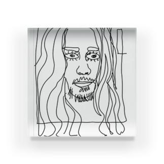 artフェイスオリジナルデザイン Acrylic Block