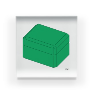 box アクリルブロック