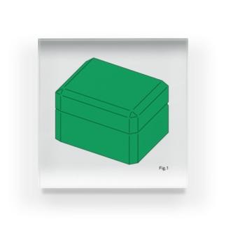box Acrylic Block