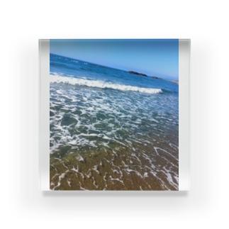 夏の海 Acrylic Block