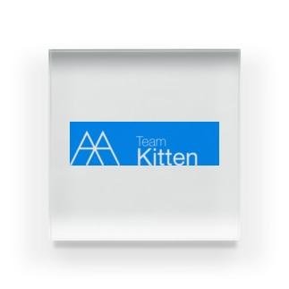 TeamKitten Acrylic Block