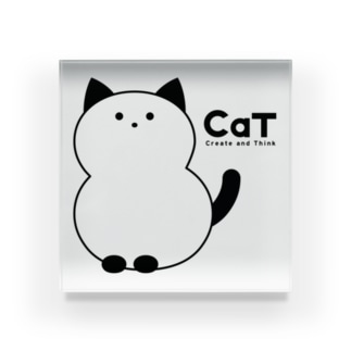CaT - Create and Think Acrylic Block