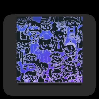 矢島ロパのしょっぷのふにゃむにゃいこうぜ Acrylic Block