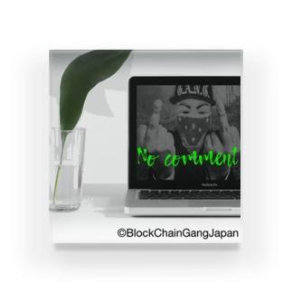 BlockChainGangJapan2 Acrylic Block
