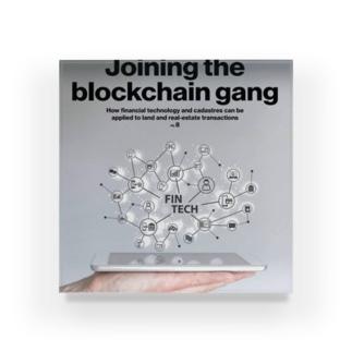 JOIN The BlockChainGang Acrylic Block