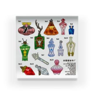 疒印秘薬標本 Acrylic Block