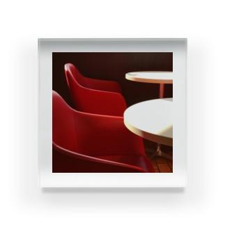 昼下がり Acrylic Block