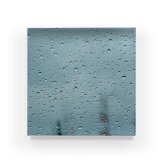 雨粒の音 Acrylic Block
