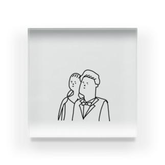 Arata&yuri Acrylic Block