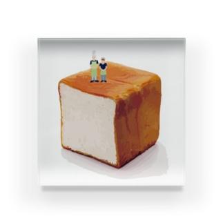食パン Acrylic Block