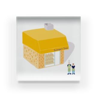 パン屋さん Acrylic Block