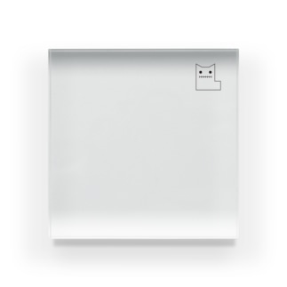 伸びゼロニ Acrylic Block