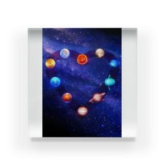 星の旋律 Acrylic Block