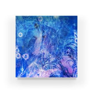 し ず め - t10 Acrylic Block