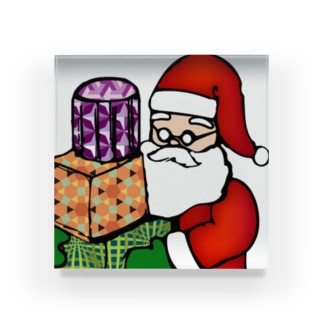 Logic RockStar ICON  Santa Acrylic Block