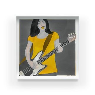 伝説のロッカー  Acrylic Block