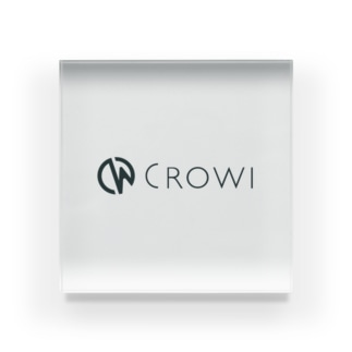 Crowi Letter Logo アクリルブロック