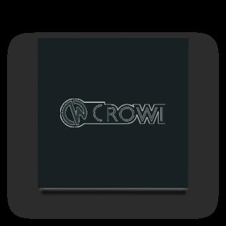 Crowi Fun ShopのCrowi Letter Logo Acrylic Block