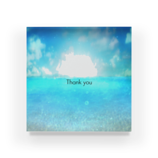 ANARCHYSEVENのSea2 Thank you Acrylic Block
