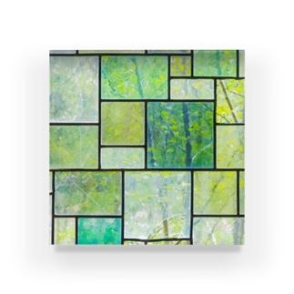 採取No.002 光 ガラス【標本シリーズ】 Acrylic Block