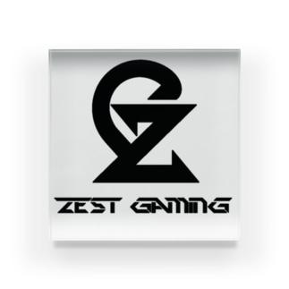 Zest Gaming B アクリルブロック