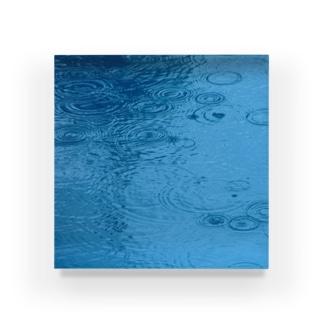 採取No.003 雨【標本シリーズ】 Acrylic Block