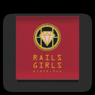 Rails Girls JapanのRailsGirlsKyoto9thグッズ Acrylic Block