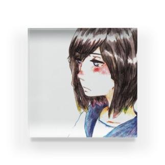 嫉妬 Acrylic Block