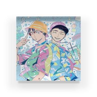 Friends 2 Acrylic Block