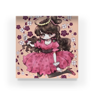 pink姫 Acrylic Block