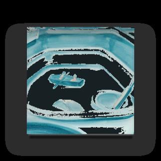 degcherryの水辺の風景 Acrylic Block