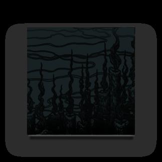 "BLACKINK "" Circle "" seriesのCircle-fireborn. Acrylic Block"