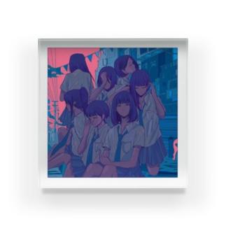 Thursday / 木曜日 Acrylic Block