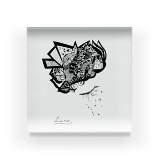 La merシリーズ Acrylic Block